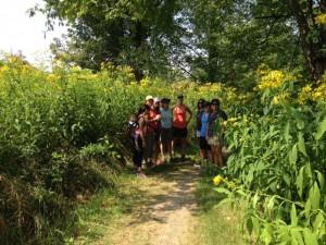 August hike 2